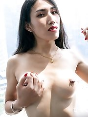 Ladyboy Alisson is showing of her delicious body in the most natural aspect